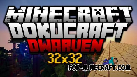 Dokucraft Dwarven BE Texture Pack for Minecraft PE