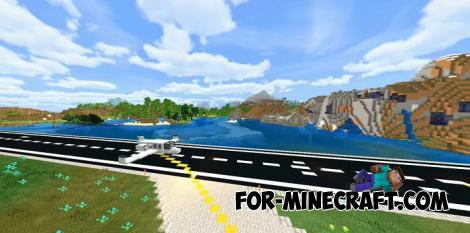 Jet Addon for Minecraft PE 1.16.0.57