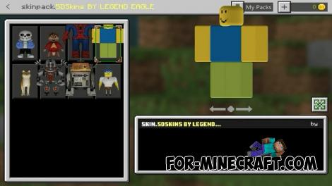 5D Skin Pack for Minecraft PE