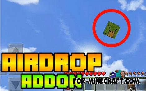Air Drops Addon for Minecraft Bedrock 1.16