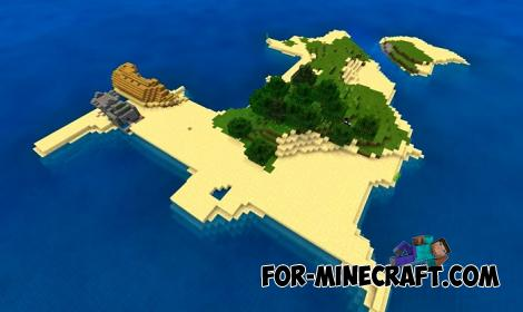 Shipwreck Island Seed for Minecraft Bedrock 1.16