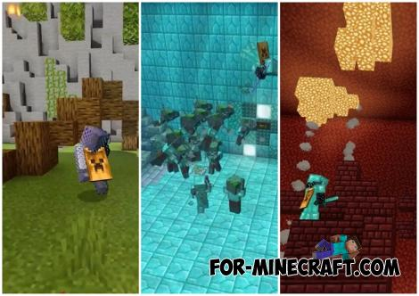 War Blocks Map for Minecraft Bedrock 1.16