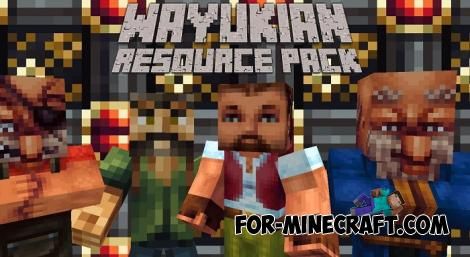 Wayukian Texture Pack for Minecraft PE