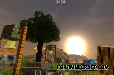 Realistic Looking Trees Pack for Minecraft PE 1.16