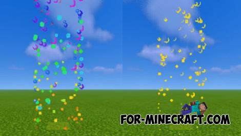More Particles Addon for Minecraft Bedrock