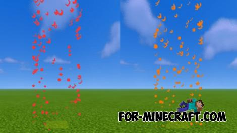 More Particles Addon for Minecraft Bedrock 1.16