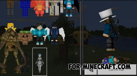 Mega 5D Skin Pack for Minecraft PE