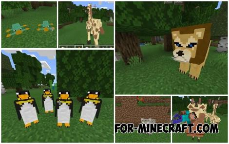 World Animals Addon for Minecraft BE 1.16
