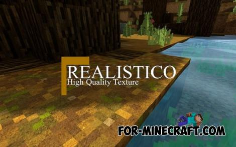 Realistico Texture Pack for Minecraft Bedrock