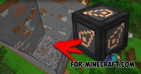 Quarry Mod for Minecraft Bedrock Edition