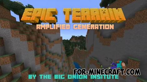 Epic Terrain Addon for Minecraft Bedrock 1.16