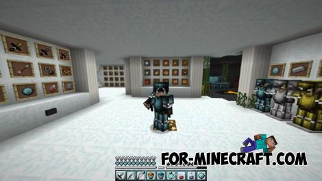 Glacier PE Resource Pack for Minecraft PE
