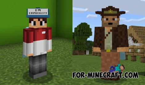 Hats Addon for Minecraft PE 1.16