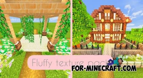 Fluffy Texture Pack for MC Bedrock