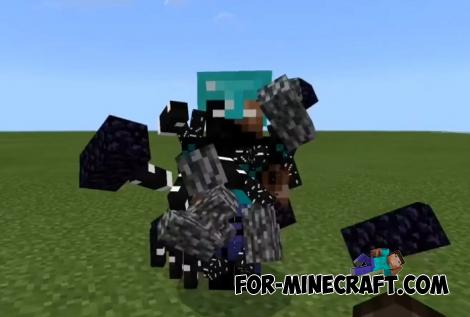Herobrine Addon for Minecraft PE 1.16