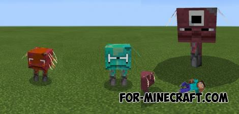 More Striders Addon for Minecraft 1.16 Nether