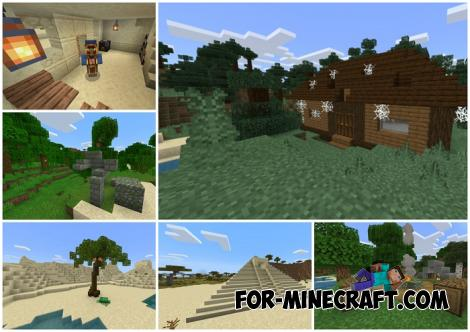 More Simple Structures Addon for Minecraft PE 1.16