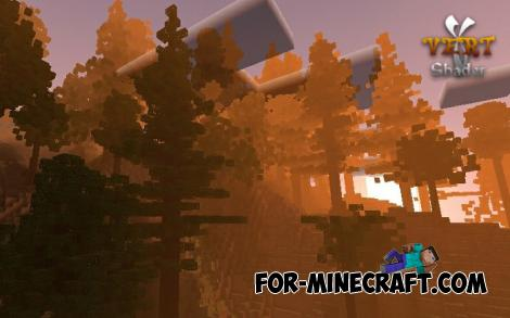 Vert Lightweight Shader for Minecraft PE 1.14/1.16+