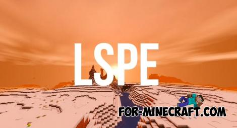 LSPE Shader for Minecraft PE 1.14/1.16