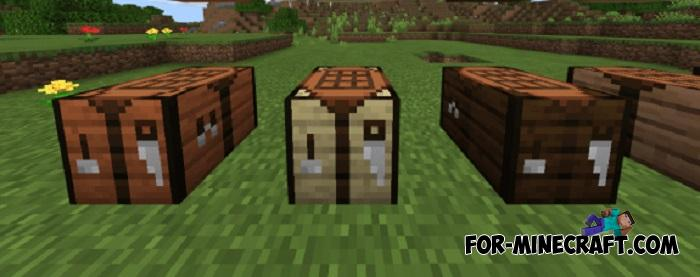 New Crafting Tables Addon For Minecraft 1 16 100 56