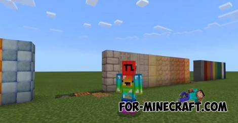 DBlocks Addon for Minecraft Bedrock 1.16