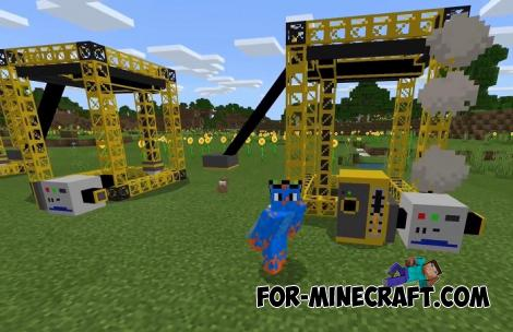 Drills and Quarries Addon for Minecraft PE