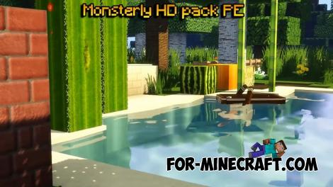 Monsterley PE Resource Pack for Minecraft PE