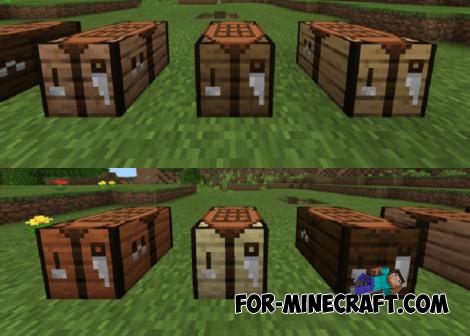 New Crafting Tables Addon for Minecraft 1.16.100.56