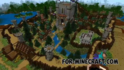 Winderdell Map for Minecraft PE 1.15/1.16