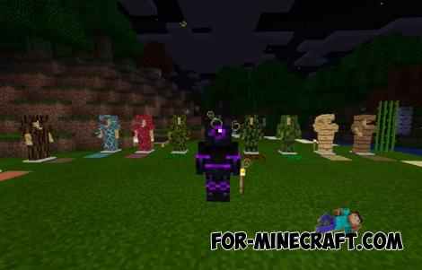 Armor+ Addon for Minecraft PE 1.16.50