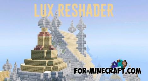 Lux Reshader for Minecraft BE