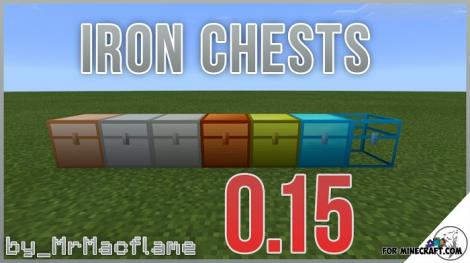 Iron Chests Mod Remastered for MCPE