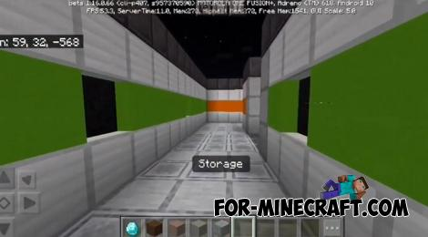 The Skeld Map (Among Us) for Minecraft PE 1.15/1.16 - This map is required if you have already downloaded Among Us Mod or Addon for Bedrock Edition of Minecraft. There is nothing better than being in a recreated spaceship used as the main map in Among Us. - Free Cheats for Games