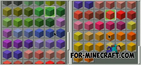 Colored Stone Addon for Minecraft PE