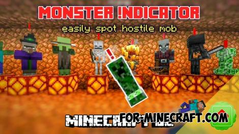 Monster Indicator Addon for Minecraft PE 1.16.200