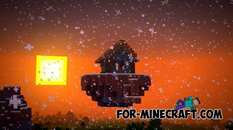 Floating House Seed for Minecraft Bedrock
