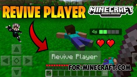 Revive Addon for Minecraft PE 1.16