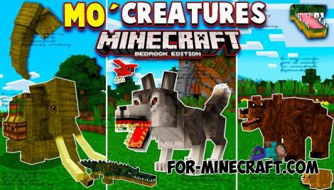 Mo' Creatures Addon for Minecraft PE