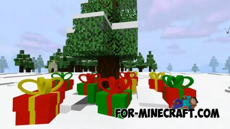 Christmas Presents Addon for Minecraft PE