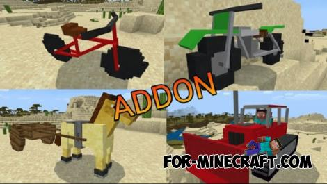 Transport Addon for MCPE