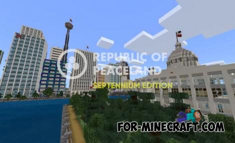 Republic of Peaceland Map for Minecraft PE