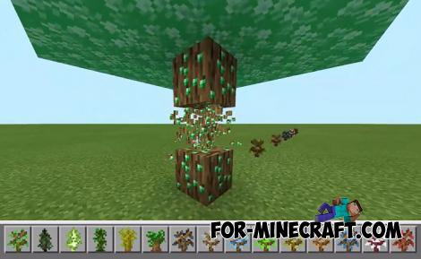 Ore Trees Addon for MCPE