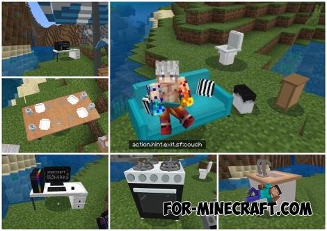 Screenfy's Furniture Addon (SFP) for Minecraft PE