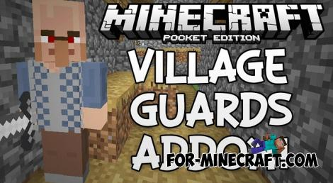 Village Guards Addon for Minecraft PE 1.16