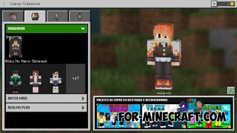 My Hero Academia Skin Pack for Minecraft PE
