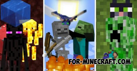 Mob Abilities Addon for Minecraft PE