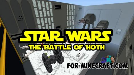 Star Wars Mini Games Map for Minecraft PE
