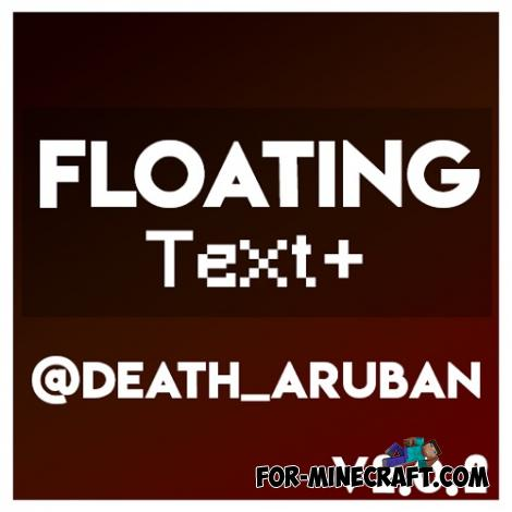 Floating Text Addon for Minecraft PE 1.16