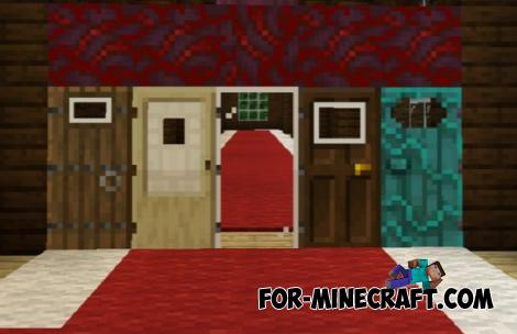 Better Doors Pack for Minecraft PE