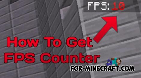 FPS Counter Addon for Minecraft PE